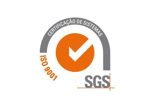 Atualmente somos certificados pela norma ISO 9001:2008